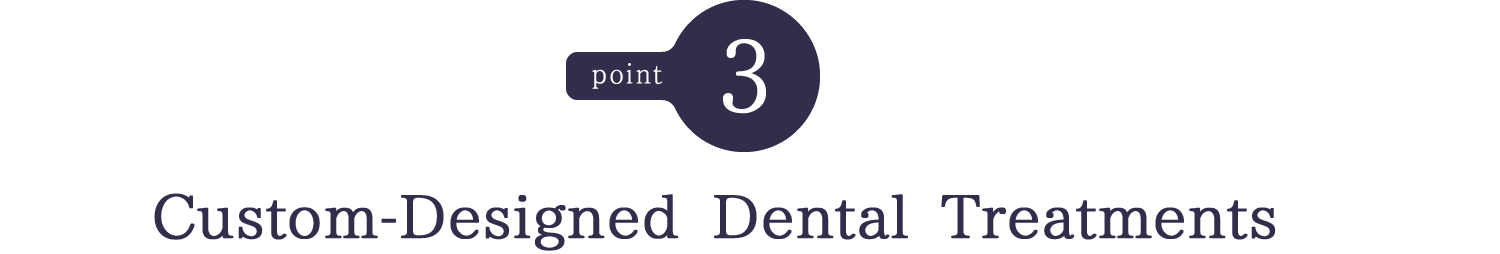 Custom-Designed Dental Treatments
